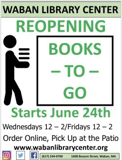 We are now open Wednesdays and Fridays 12-2 for Books-To-Go! thumbnail
